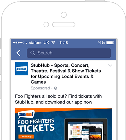 StubHub: Buy And Sell The Hottest Tickets