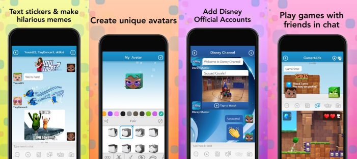 Disney Launches Kid-friendly Messaging App