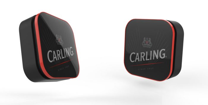 Carling Launches World's First Beer Button