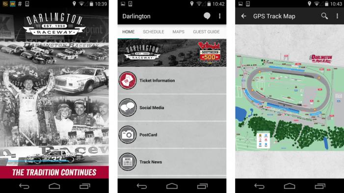 Coca-Cola Teams with Darlington Raceway for Mobile Fan Experience App