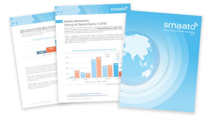 Mobile ad spending still on the rise says new Smaato report