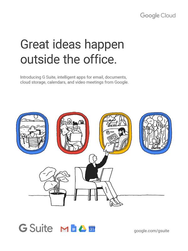 6-google-gsuite-campaign-minimal-illustrations-advertising-apps