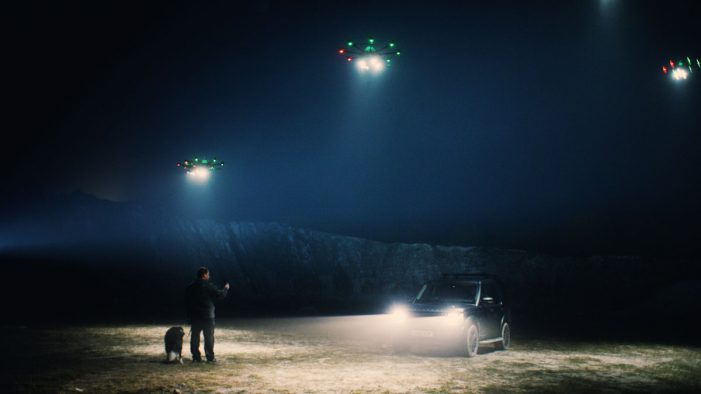 Direct Line tackles darkness with Fleetlights: GPS drones that light your way home