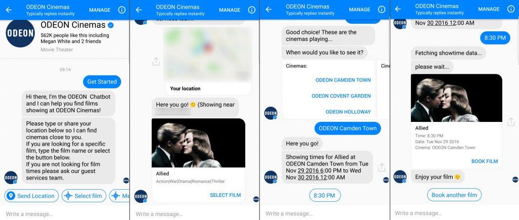 odeon-chatbot-screenshots