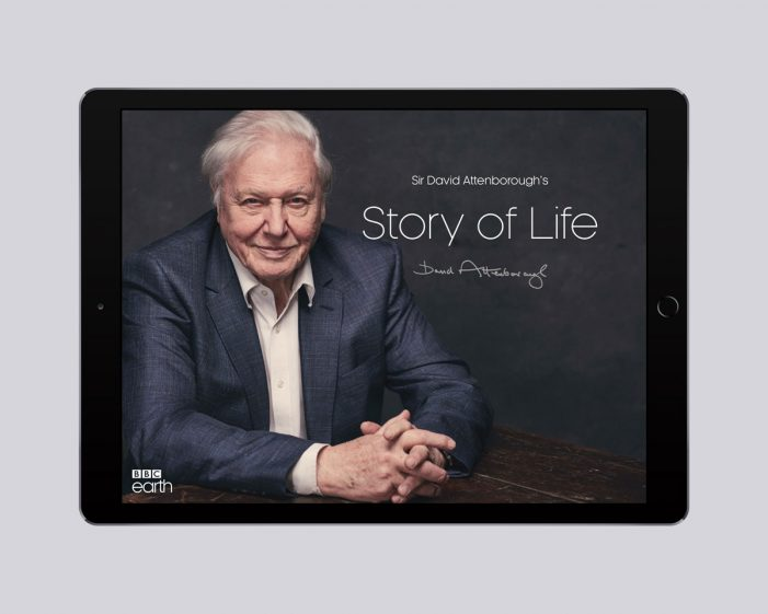 BBC Earth releases the 'Story of Life' app – the largest digital collection of Sir David Attenborough's work