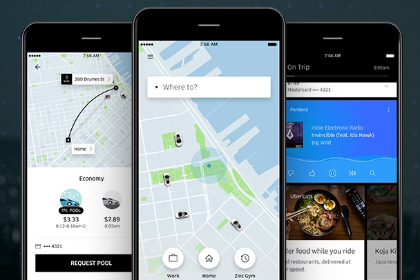 Uber Redesigns App, Focusing on a Single Question