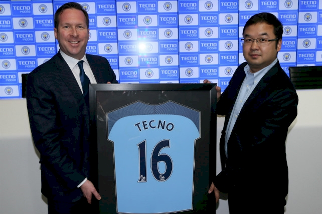 TECNO Mobile to Grow Manchester City's Strategic Marketing and Advertising Campaigns across the Globe