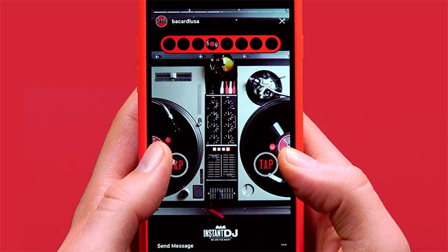 Bacardi and Swizz Beatz Create a New Kind of DJ Experience on Instagram