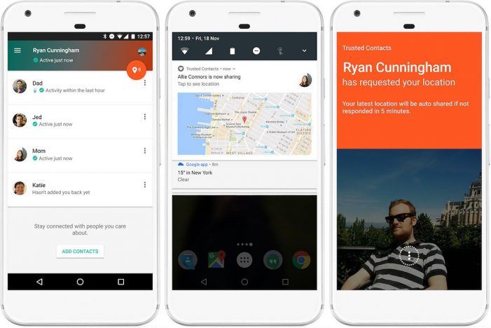 Google launches new Android app Trusted Contact 'in case of emergency'