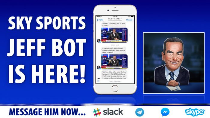 Sky Sports Introduces Jeff Stelling-inspired Chatbot