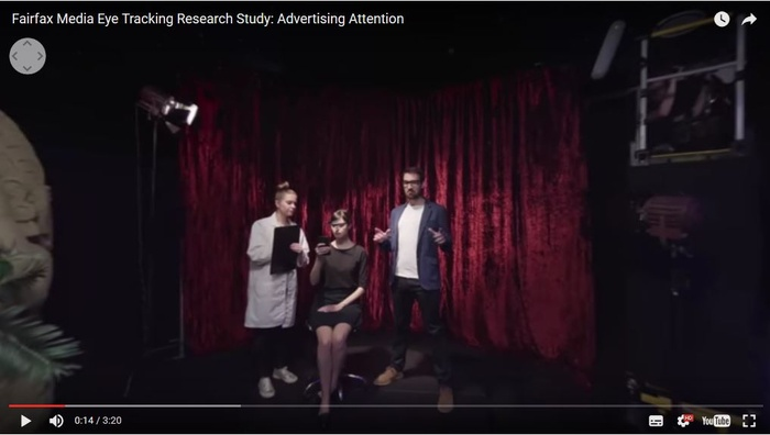 Fairfax uses eye tracking study to provide digital ad effectiveness