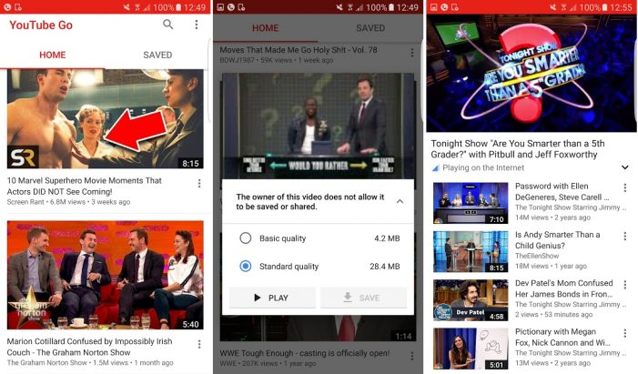 YouTube Launches the Lighter Version of its App