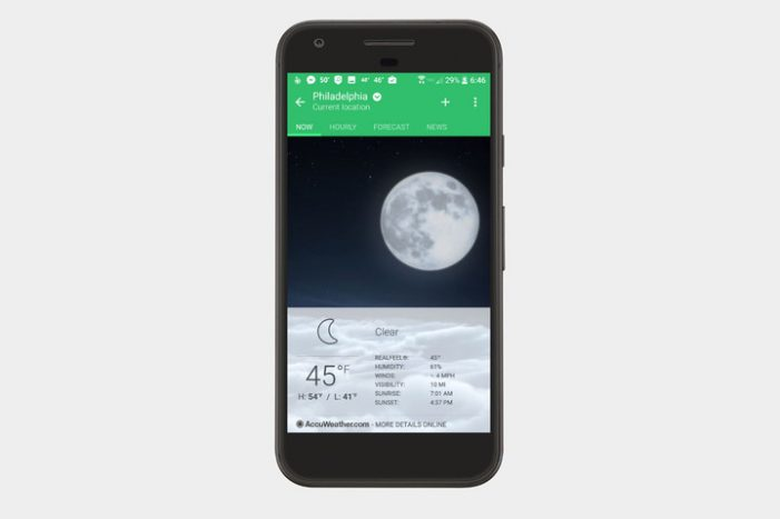 AccuWeather Launches Mobile Integration Suite