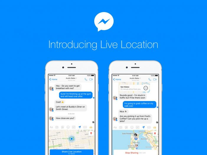 Messenger takes on Apple & Google by offering real-time location sharing