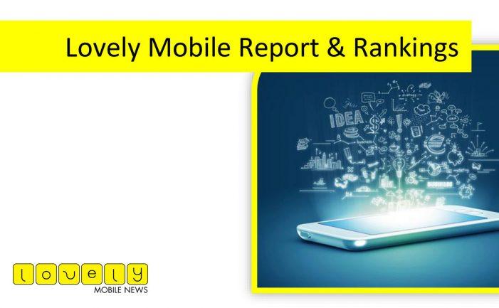 The Lovely Mobile Report, Rankings & Awards 2017