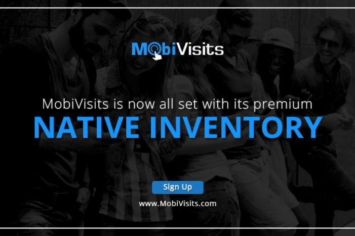 MobiVisits upgrades user interface with launch of native ad inventory