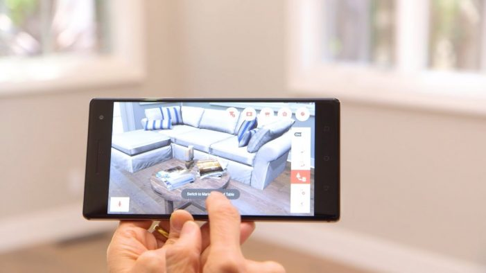Pottery Barn debuts augmented reality furniture app
