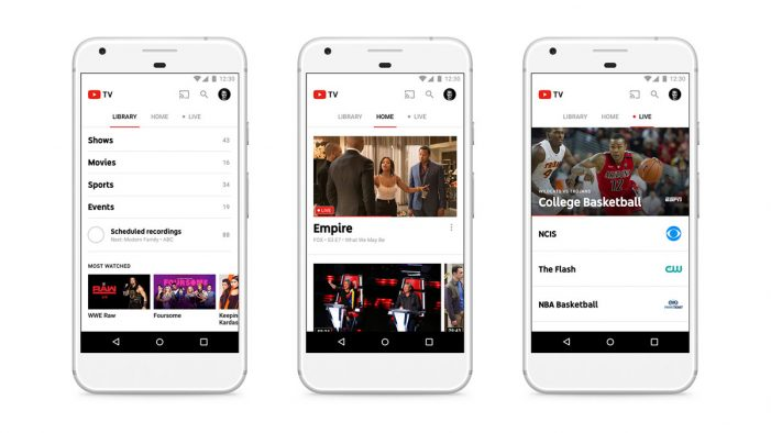 YouTube's Live TV Streaming Service Is Officially Available for Subscription