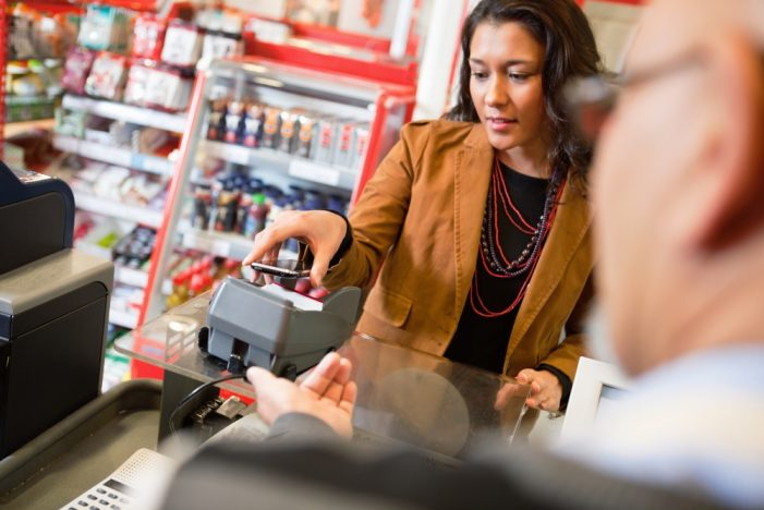 Contactless retail payments will pass $1 trillion by 2019