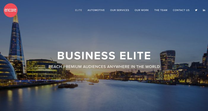 Encore Digital Media launch pinpoint online targeting for luxury brands
