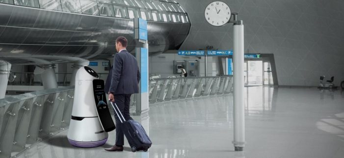 LG introduces assistance robots to Korea's largest airport