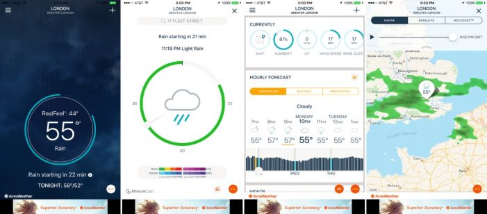 AccuWeather caught sending location data to monetisation firm without permission