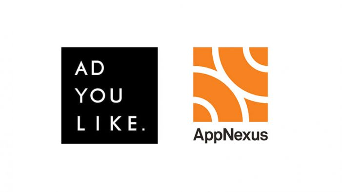 Adyoulike Announce Global Programmatic Native Advertising Integration with AppNexus