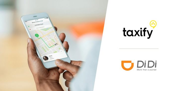 China's DiDi to back small Uber rival Taxify in Europe, Africa