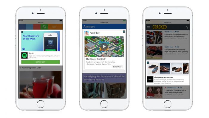 Facebook Audience Network wants to decrease the number of accidental clicks on mobile adverts