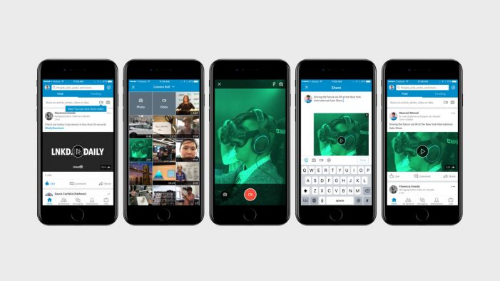 LinkedIn rolls out native video sharing