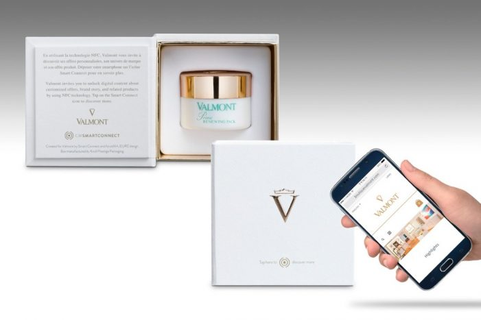Valmont Cosmetics uses Thinfilm's NFC solutions to transform beauty products into consumer experiences