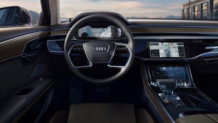 Audi A8 ties with HERE location technology