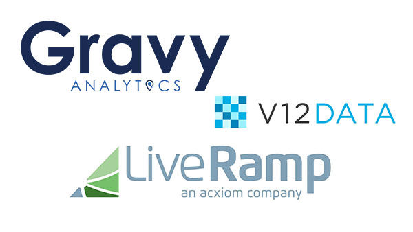 Gravy Analytics and V12 Data Release New 'Data Innovators' Audiences with LiveRamp