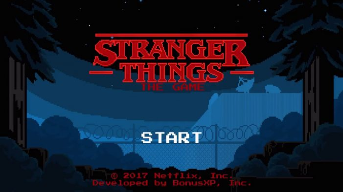 Netflix's Stranger Things promotes second season with mobile game