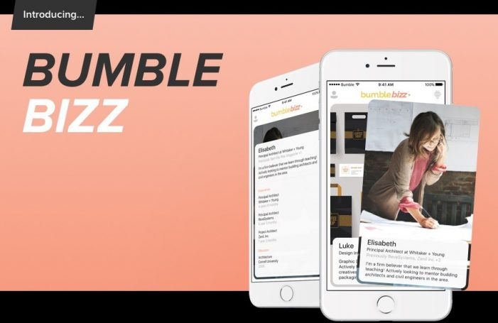 Dating app Bumble launches professional spin-off