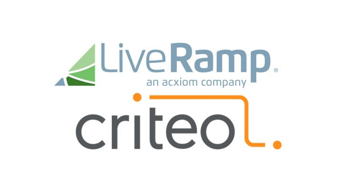 LiveRamp and Criteo team to enhance people-based marketing campaigns for omnichannel engagement