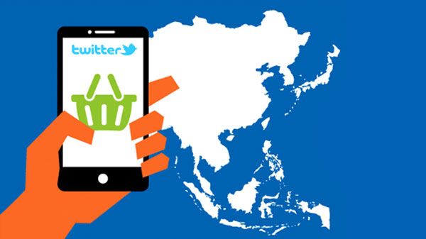 Mobile commerce more popular among users in APAC than in other regions, according to Twitter