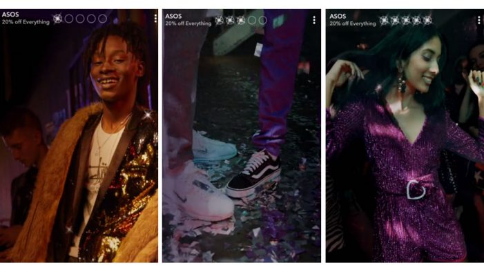 Asos and HBO first to experiment with Snapchat's branded Stories offering