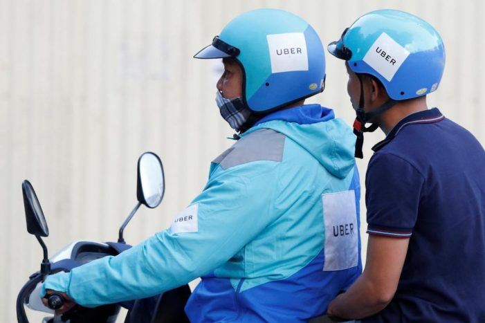 Uber signs first Southeast Asian e-wallet deal with Vietnam's MoMo