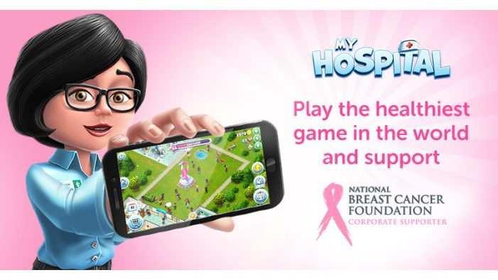 The creators and the players community of My Hospital will support the battle with breast cancer