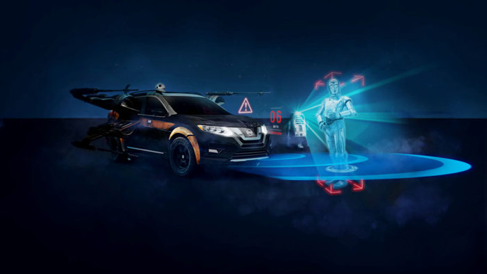 Nissan dealers welcome Star Wars-themed AR experience to demonstrate advanced technologies