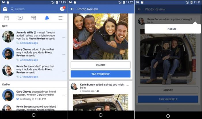 Facebook increases use of facial recognition to spot users in uploaded photos