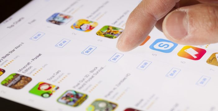 Global spending on app stores will exceed $110bn in 2018, according to App Annie