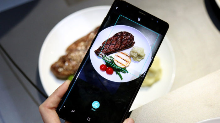 Samsung is teaching Bixby to count the calories in your food