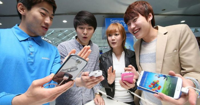Smartphones will capture over a quarter of media time in South Korea, according to eMarketer