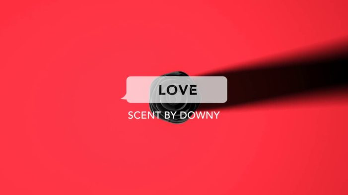 "Text messages with a scent: Downy and Grey Group Hong Kong introduce ""Scent by Downy"""
