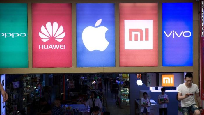 China's smartphone market shrinks for the first time in 9 years, according to IDC Report