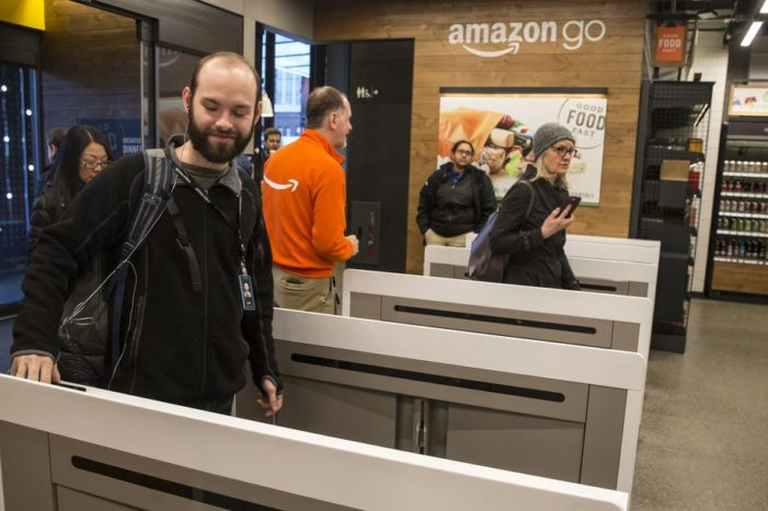 Amazon plans to open up to six more cashierless Amazon Go stores in 2018