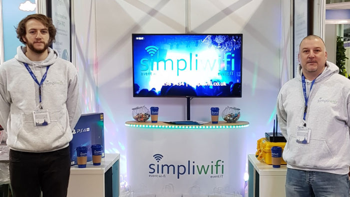 SimpliWiFi launch UK first in heat mapping tech at Event Production Show
