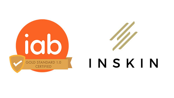 "Inskin Media becomes first ad tech to receive the IAB ""Gold Standard"""